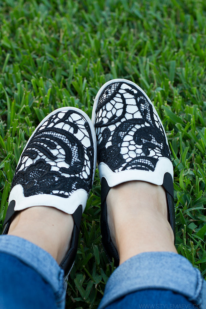 Steve Madden lace sneakers