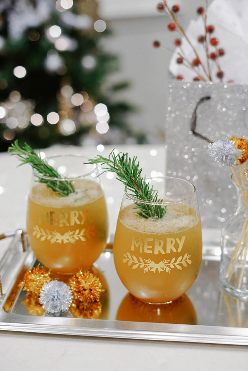 Champagne Whiskey Cocktail