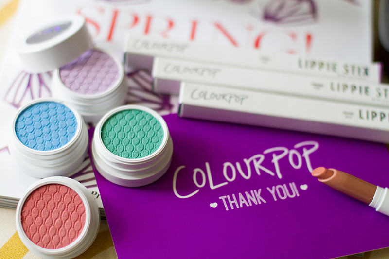 Colour Pop Cosmetics, coloupop eyeshadows