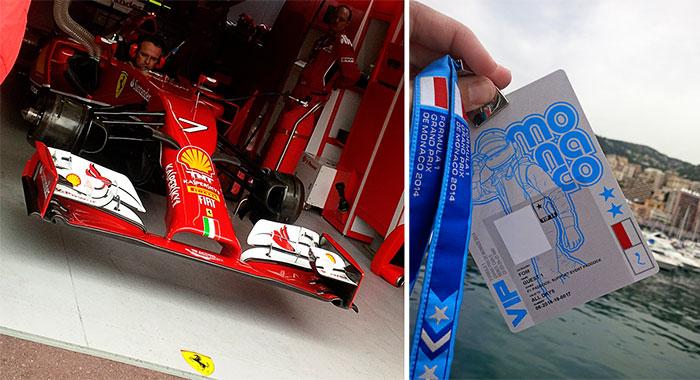 Monaco Grand Prix - Pit Lane