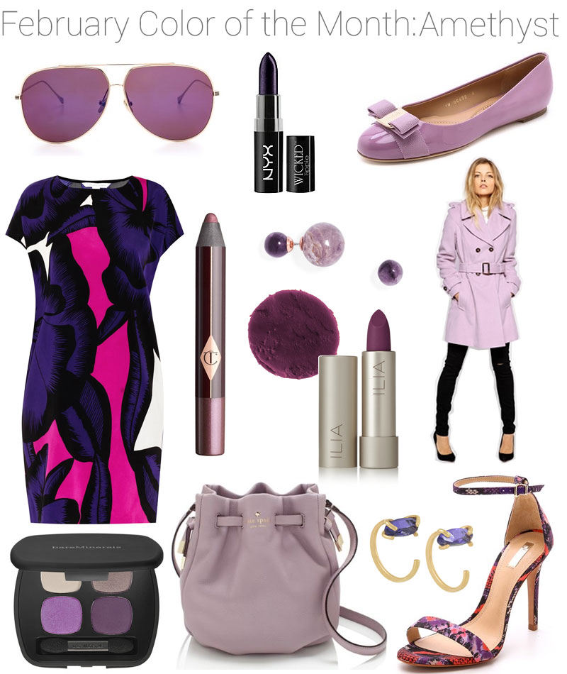 Color Of The Month February 2016: February Color Of The Month: Amethyst