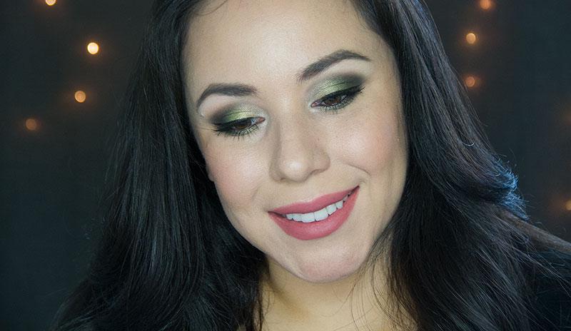 green ombre eyeshadow tutorial