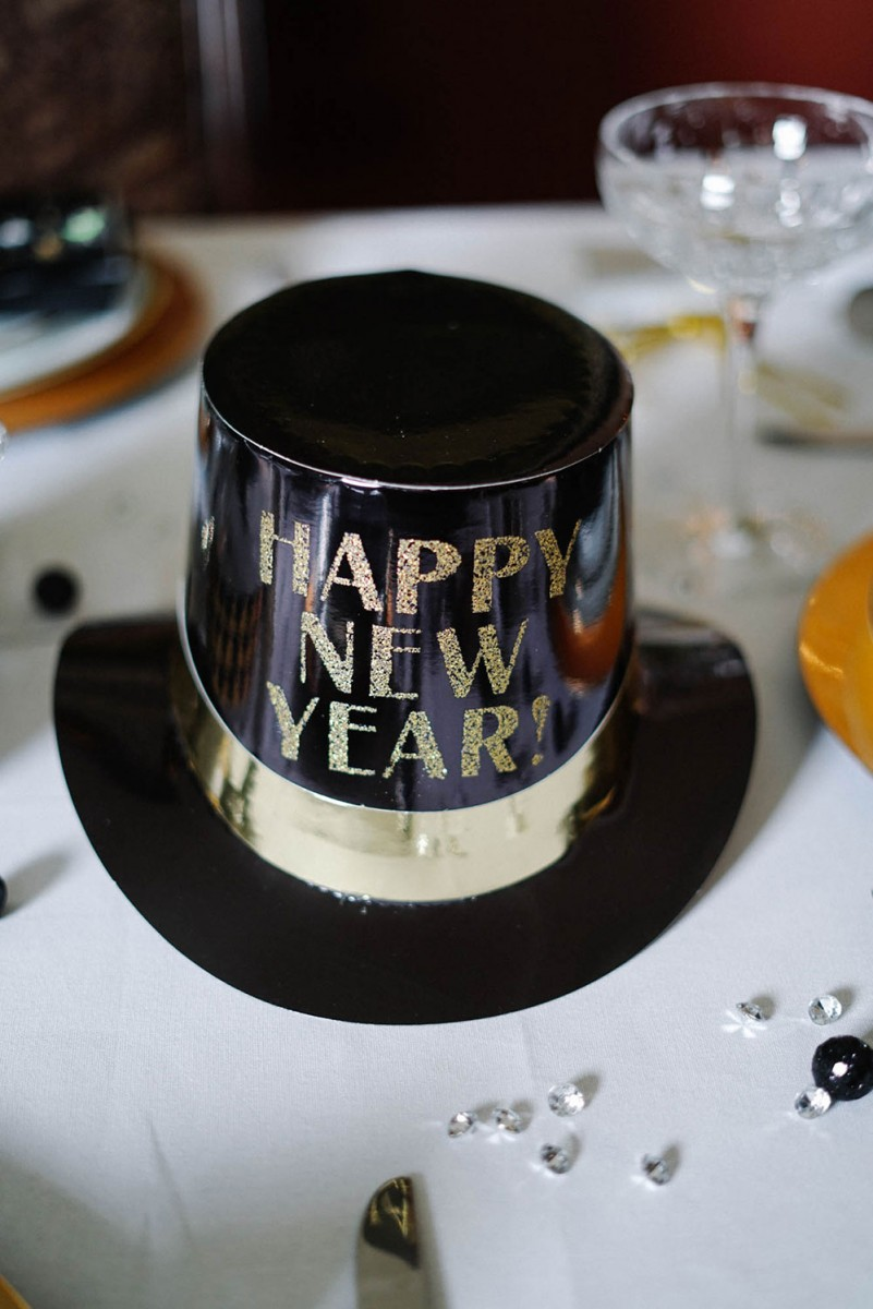 Happy New Year Top Hats