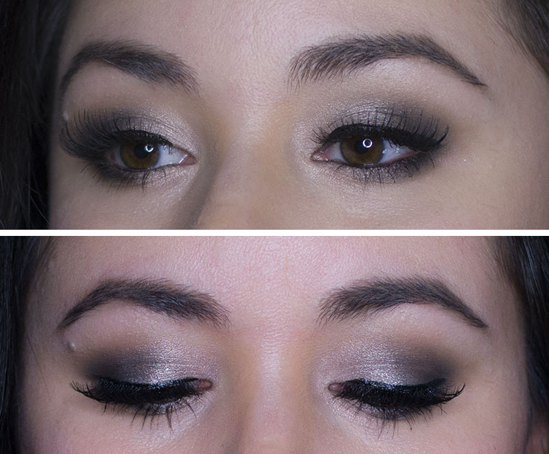 Smokey Eye - BH Cosmetics MakeupbyMandy24 palette