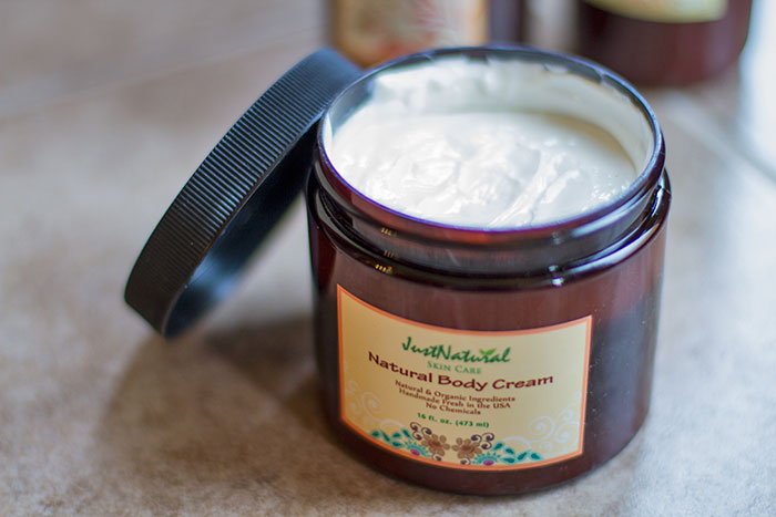 Just Natural Hair and Skin Care body cream
