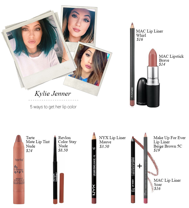5 ways to get kylie jenner lips using these lip products
