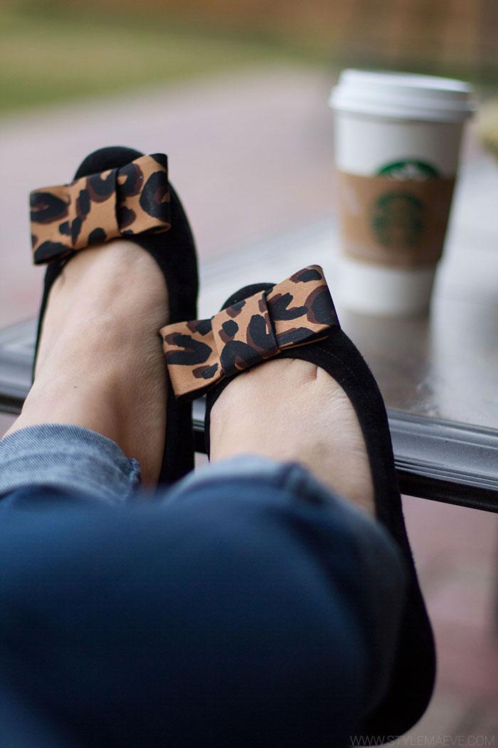 Leopard-Bow-Flats