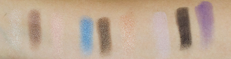 mary kay baked eye trio shadows swatches