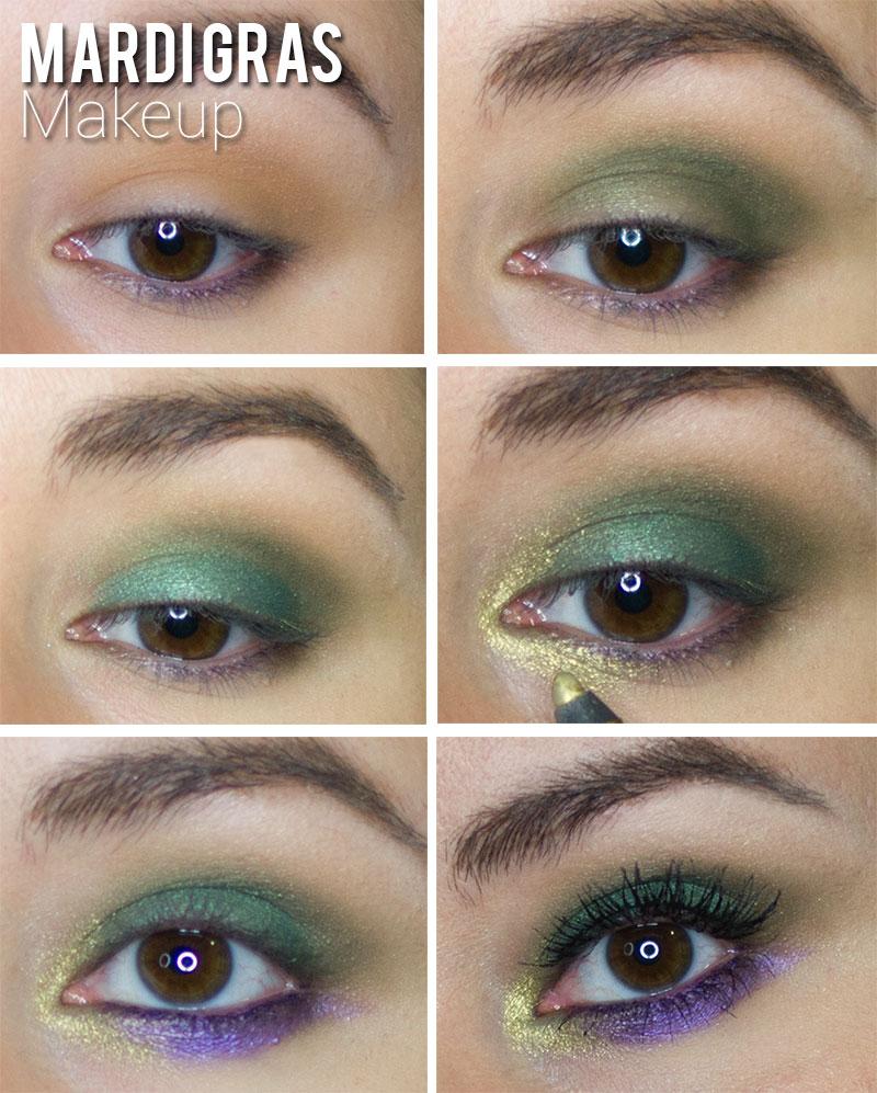 Mardi Gras Makeup By Lynny