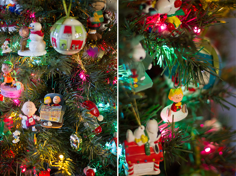 Snoopy Christmas Tree Ornaments