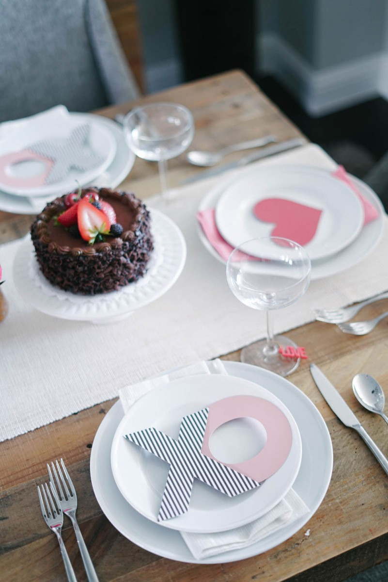 Valentines Day Table Top Decor