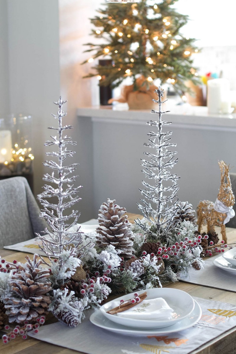 Christmas Tree Table Decor