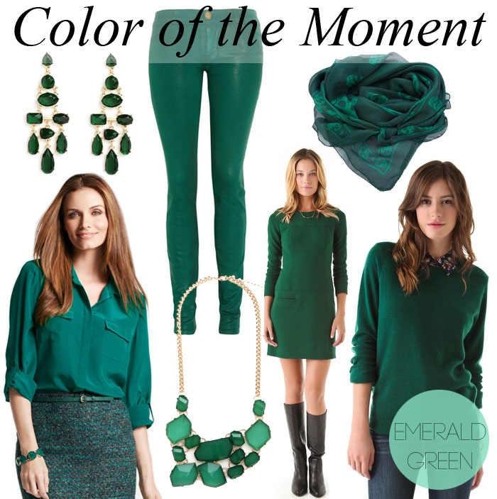 Color Of The Moment Emerald Green By Lynny
