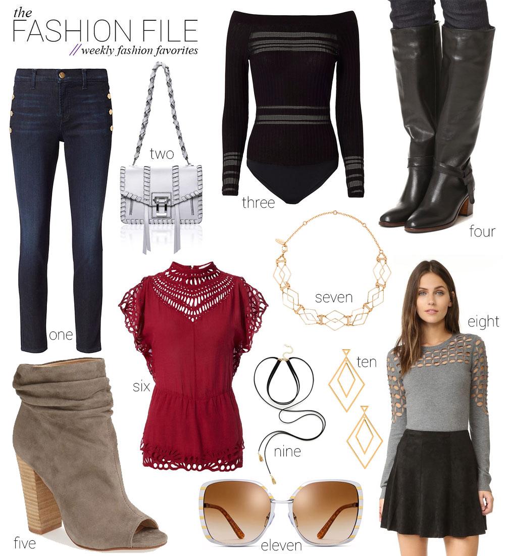 Weekly fashion favorites