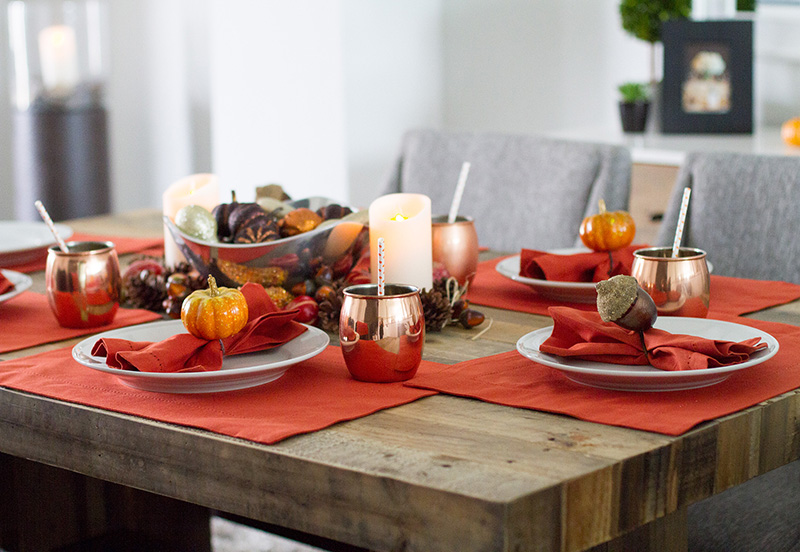 fall decor, thanksgiving table decor