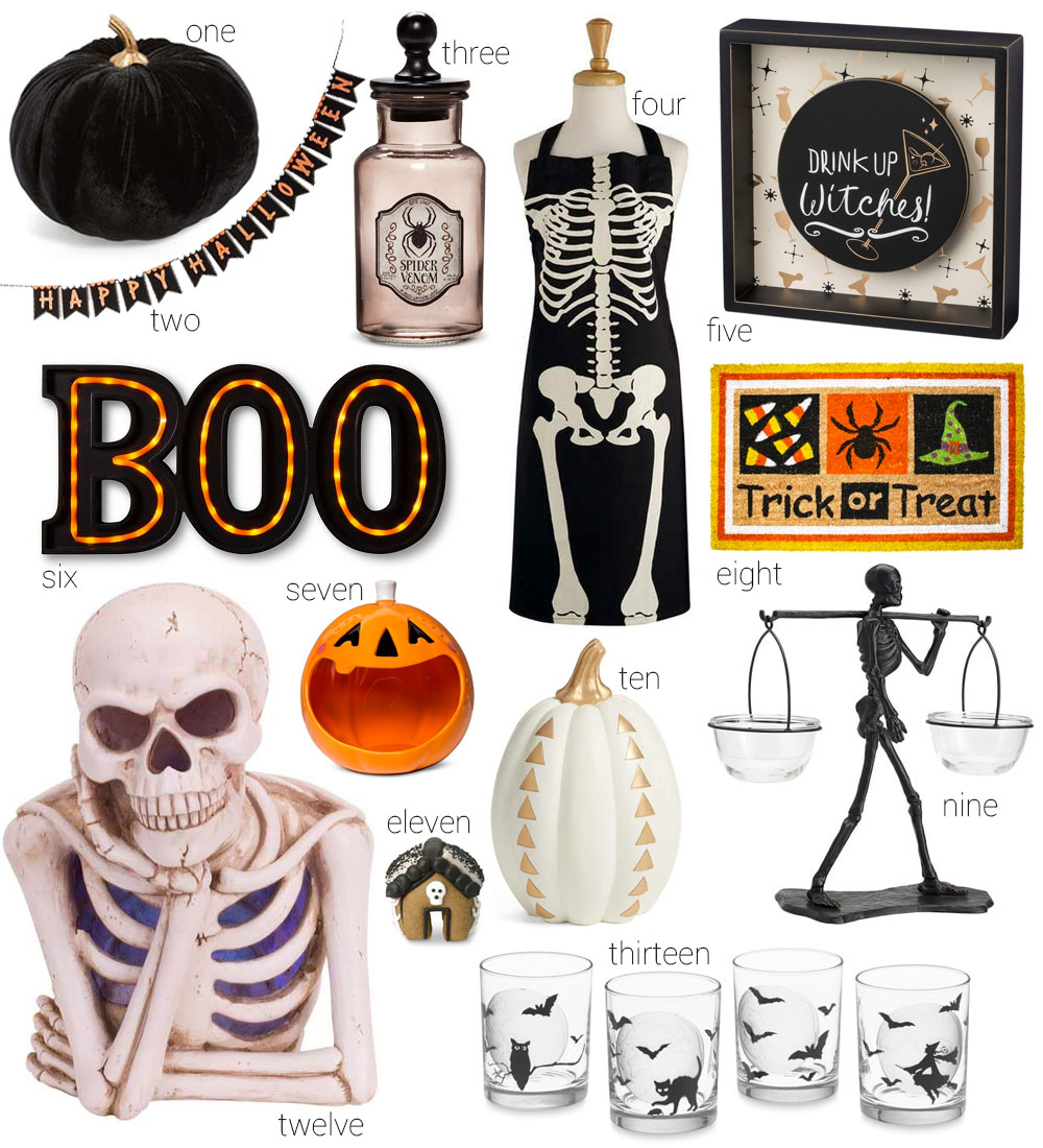 13 Halloween Home Decor Finds