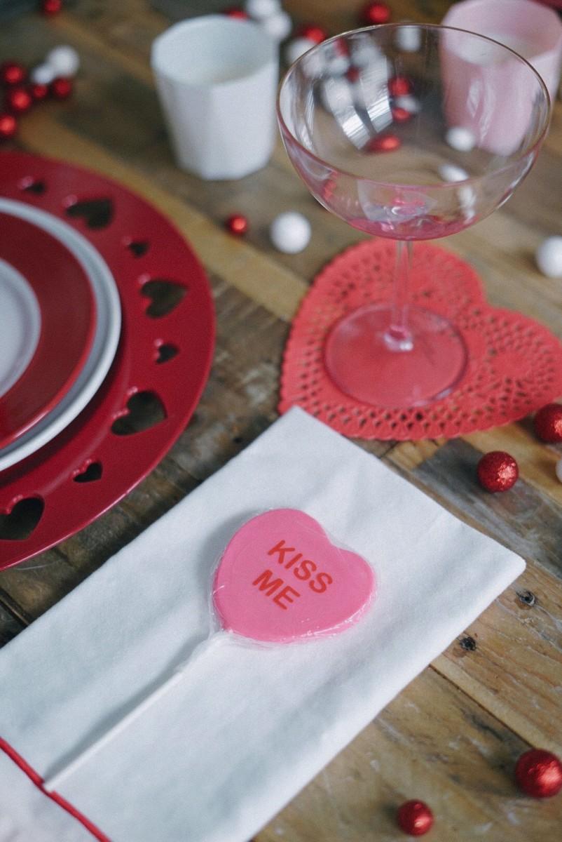 Valentine's Napkin