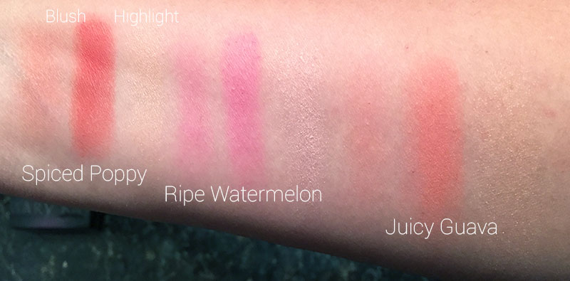 Mary Kay Cheek Color Duo Swatches
