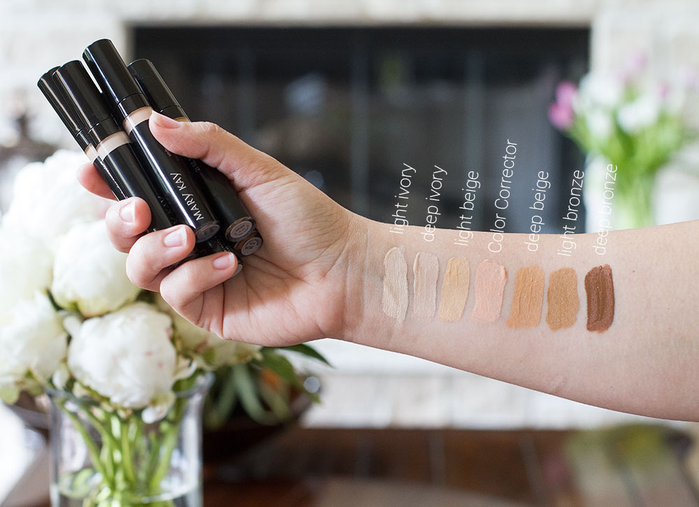 Mary Kay perfecting Concealer Swatches