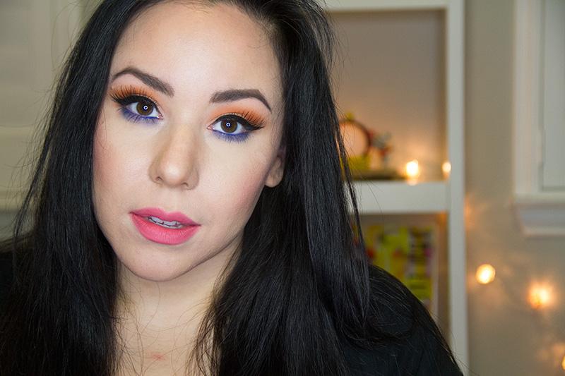 Orange eye shadow, Bh Cosmetics Modern Mattes