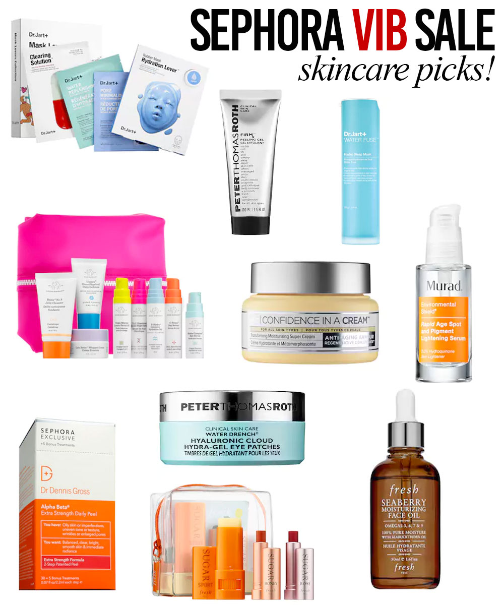 Sephora VIB Sale Skin Care Must-Buys