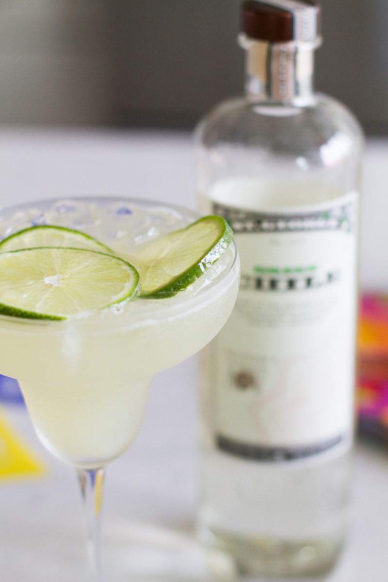 St. George Green Chile Vodka Margarita