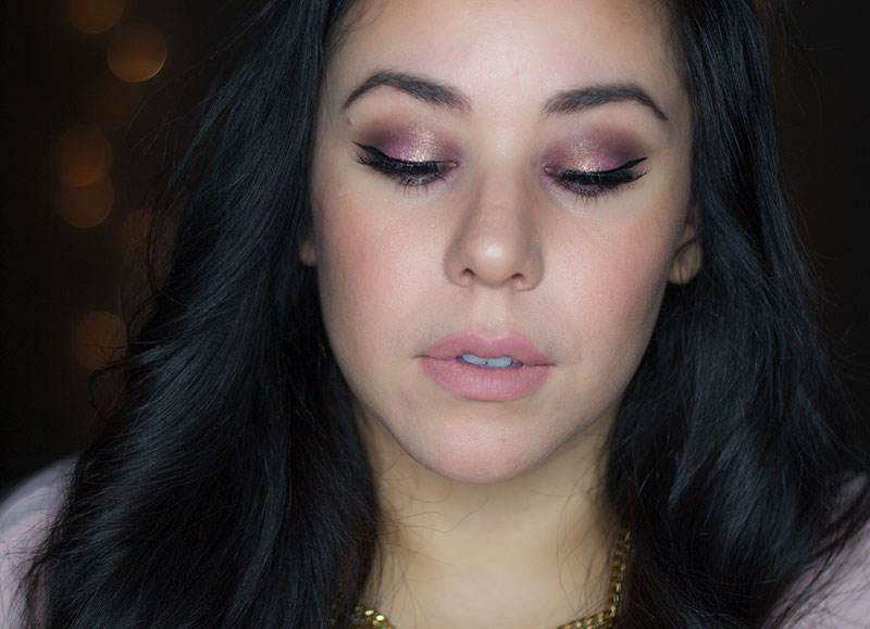 Valentines Day Makeup Look : Rose Shadow