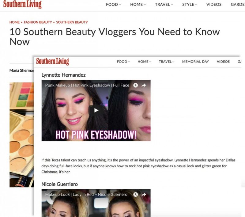 Souther Beauty Vloggers