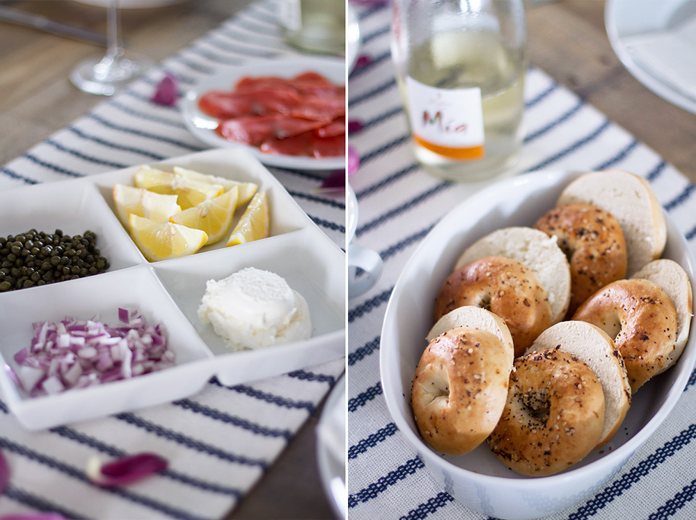 Bagels and Lox Brunch
