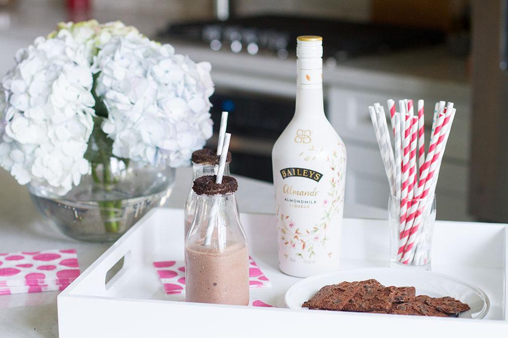 Baileys Almande Frozen Chocolate Cocktail
