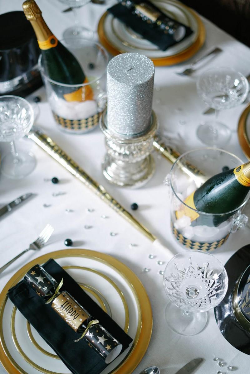 Gold Table Decor