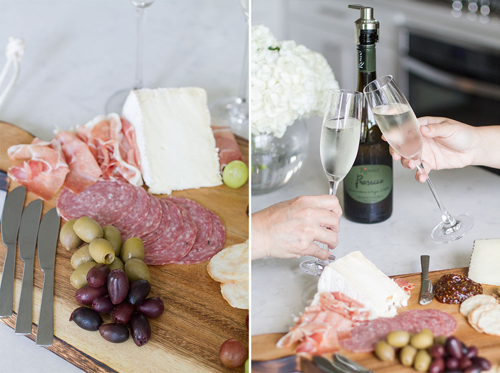 Making your own charcuterie board