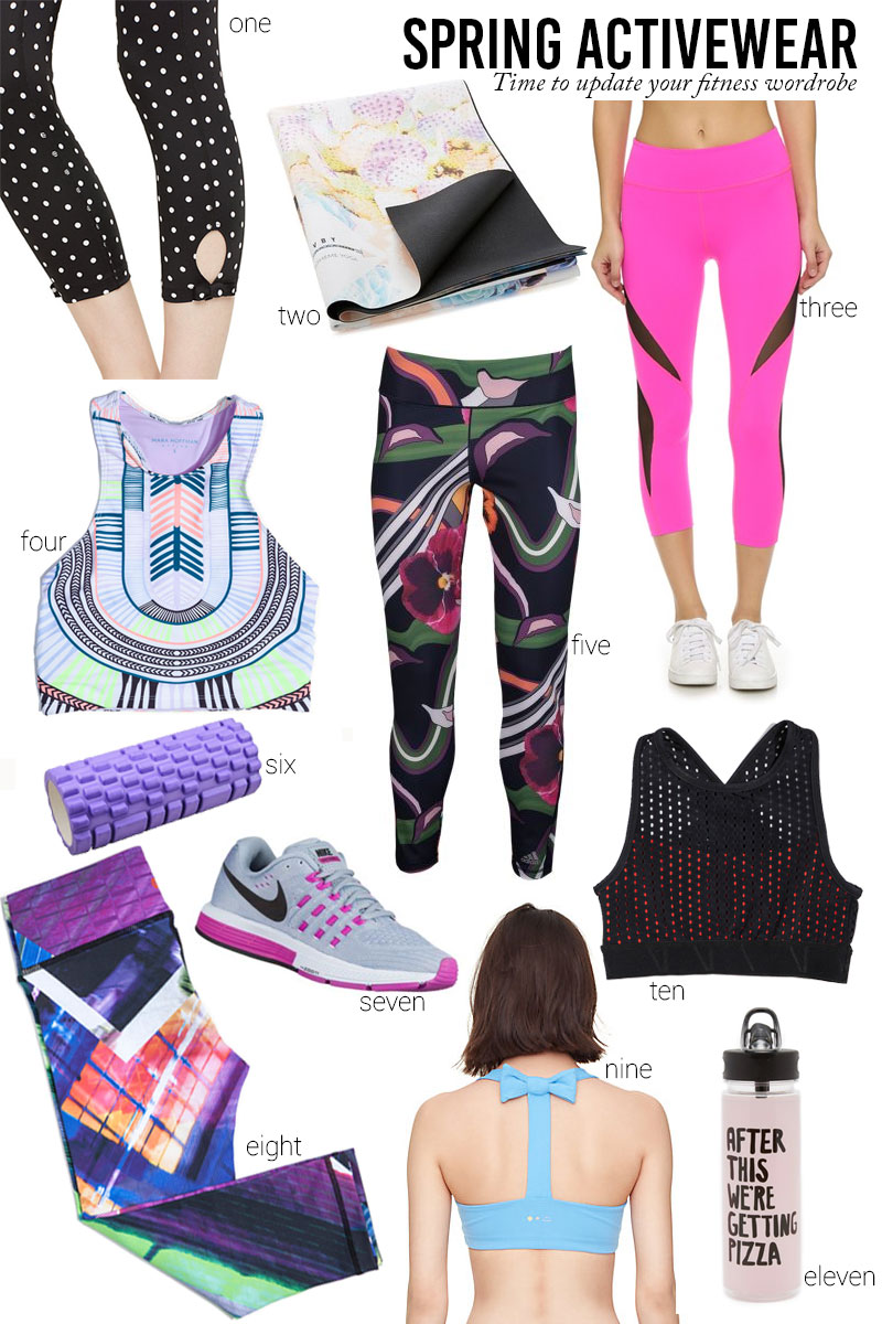 spring activewear